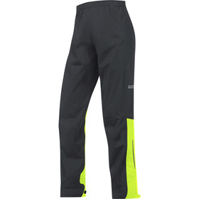GORE WEAR C3 Gore-Tex Active Housut Miehet, black/neon yellow